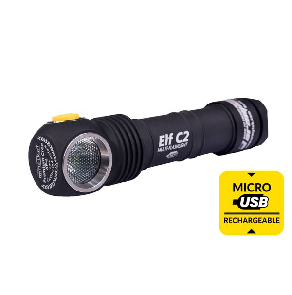 Armytek Elf C2 USB + 18650 3200 mAh / XP-L