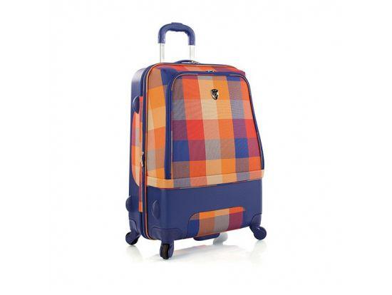 Чемодан Heys Chroma Hybrid (M) Orange/Blue