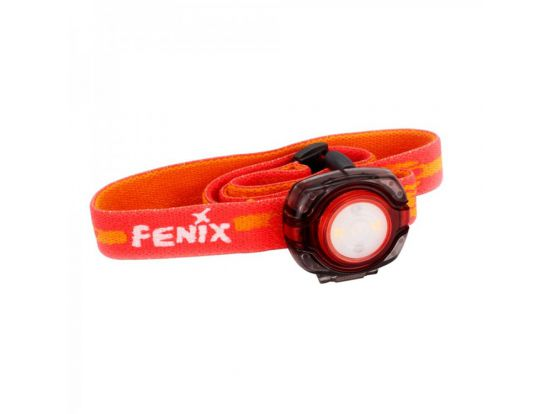 Налобный фонарь Fenix HL05 красный (8 лм, 2хCR2032)