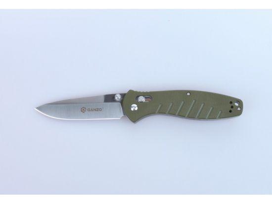 Нож Ganzo G738-GR зелёный