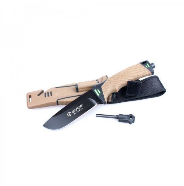 Нож Ganzo G8012 песочный