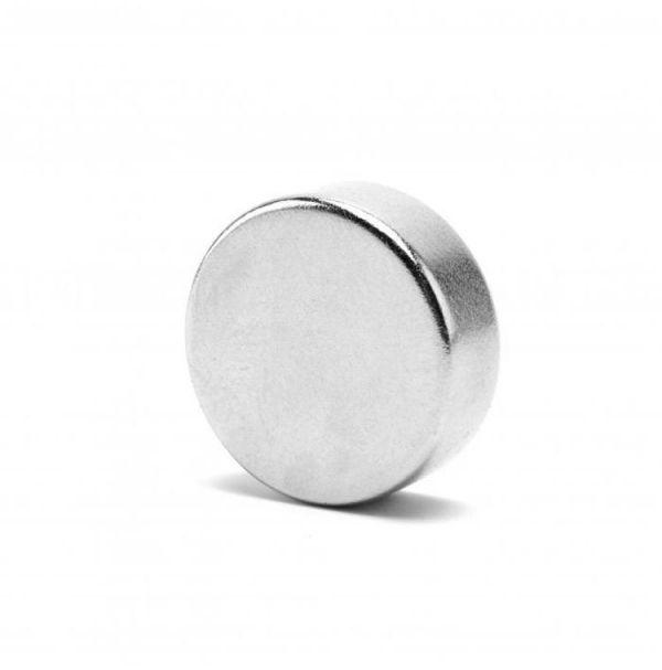 Магнит неодимовый 20х5 цилиндрический