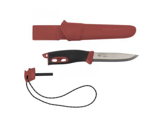 Нож Morakniv Companion Spark, красный
