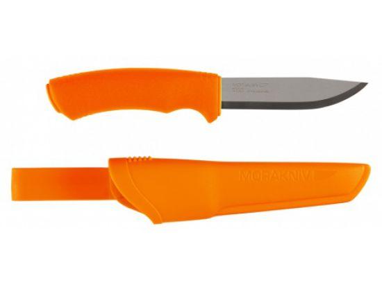Нож Morakniv Bushcraft Orange, stainless steel, блистер