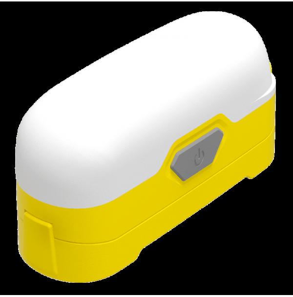 Фонарь Nitecore LR30 (HIGH CRI + RED LED, 205 + 45 люмен, 6 режимов, 1x18650), желтый