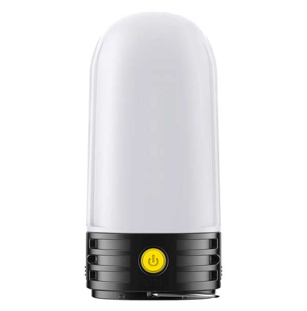 3 в 1 - Фонарь кемпинговый + Power Bank + зарядное устройство Nitecore LR50 (9xLED, 250 люмен, 5 реж, 2x18650)