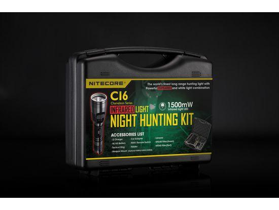 Набор для ночной охоты Nitecore CI6, в подарочном кейсе