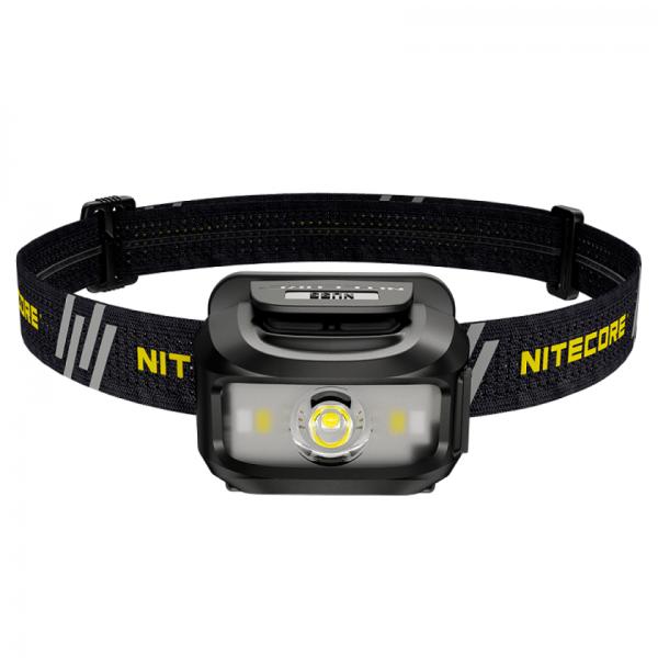 Фонарь налобный Nitecore NU35 (Cree XP-G3 S3 + Red Led, 460 люмен, 10 режимов, 3xAAA, USB)