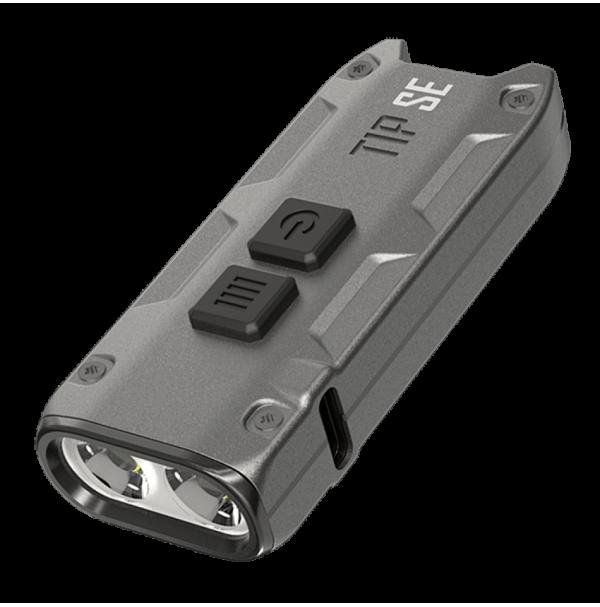 Фонарь Nitecore TIP SE (2xOSRAM P8, 700 люмен, режимов, USB), серый