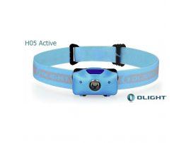 Фонарь налобный Olight H05 Active, синий