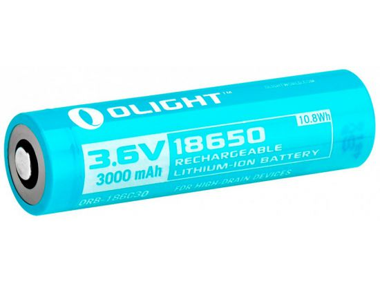 Аккум. батарея Olight 18650 Li-Ion 3000mAh для H2R
