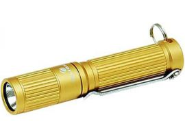 Фонарь Olight I3S EOS, 80/20/0,5 лм, жёлтый