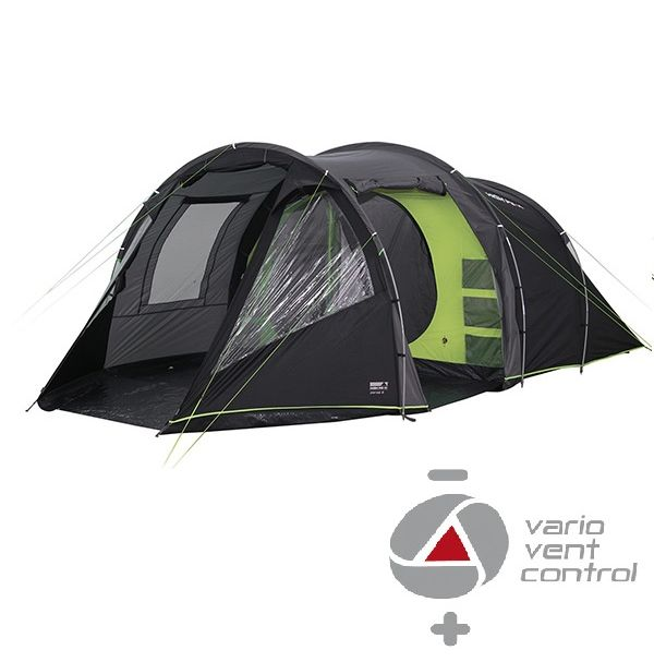 Палатка High Peak Paros 5 (Dark grey/Green)