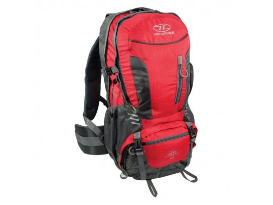 Рюкзак туристический Highlander Hiker 40 Red