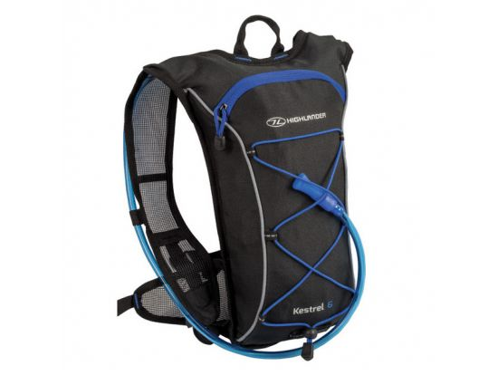 Рюкзак спортивный Highlander Kestrel 6 Hydration Pack 10 Black/Blue