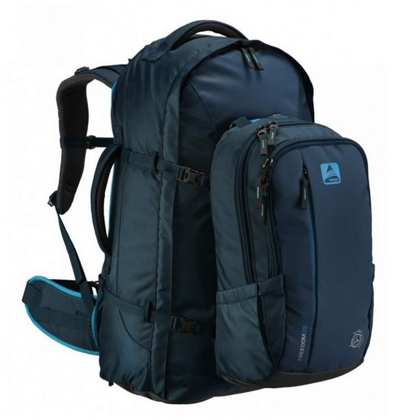 Рюкзак туристический Vango Freedom II 80+20 Turbulent Blue