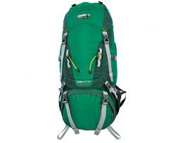 Рюкзак туристический High Peak Zenith 75+10 (Green/Dark Green)