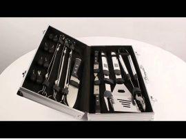 Набор ножей SKIF д/пикника в алюмин. кейсе 20 предм.