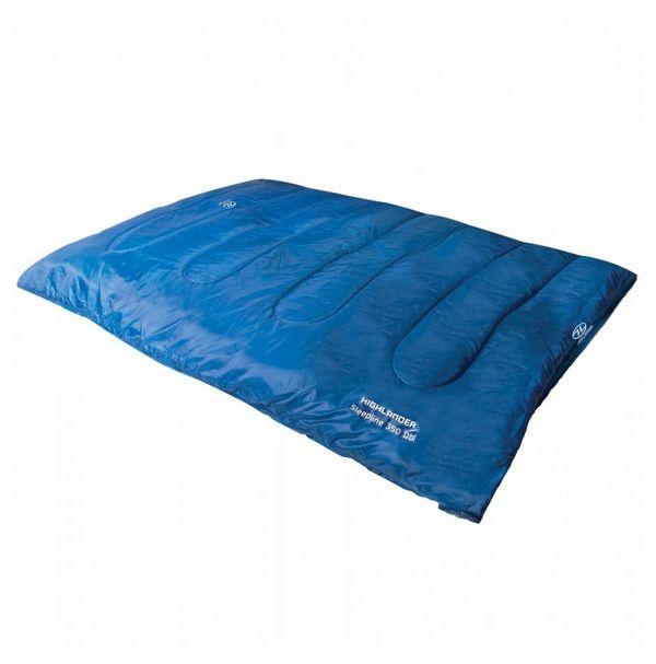Спальный мешок Highlander Sleepline 350 Double/+3°C Deep Blue (Left)