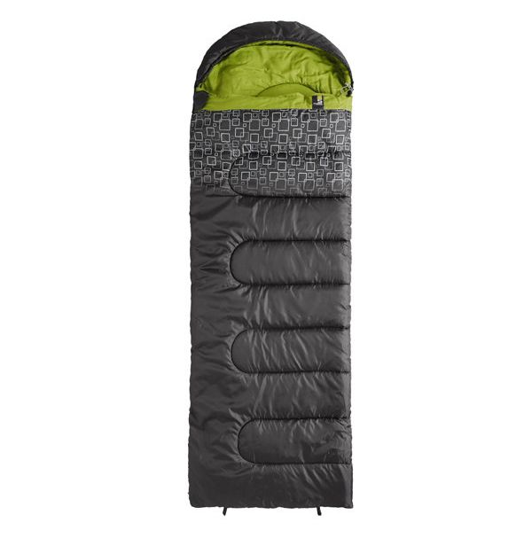 Спальный мешок Caribee Moonshine / +5°C Charcoal/Green (Right)
