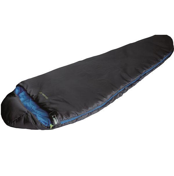 Спальный мешок High Peak Lite Pak 1200 / +5°C (Right) Black/blue