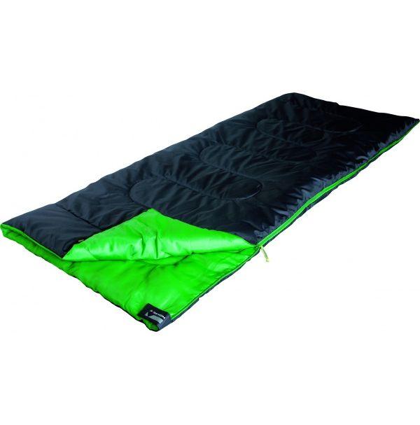 Спальный мешок High Peak Patrol / +7°C (Left) Black/green