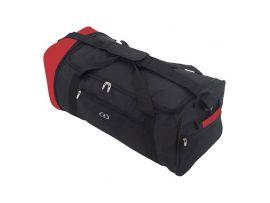 Сумка дорожная Azure Foldable Extralight 87 Black/Red