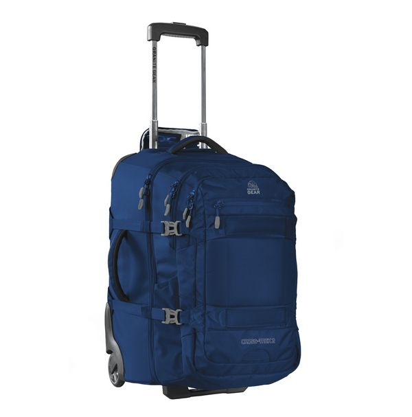 Сумка-рюкзак на колесах Granite Gear Cross Trek 2 W/Pack 74 Midnight Blue/Flint