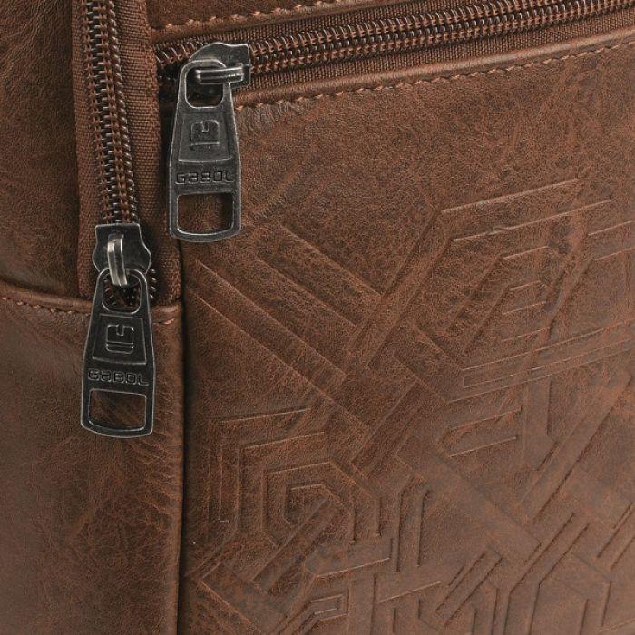 5e46b6e481c2 Купить Сумка на плечо Gabol Kurt 4L Brown 528912-002. Цена на Сумка ...