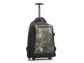 Сумка-рюкзак на колесах Epic Explorer Small 34 Black/Camo