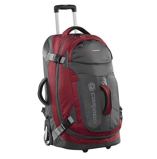 Сумка дорожная Caribee Time Traveller 70 Red/Charcoal