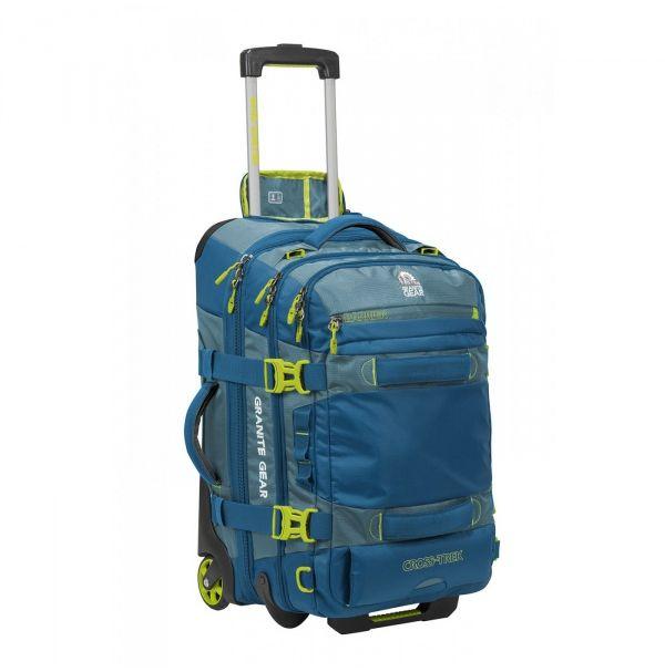 Сумка-рюкзак на колесах Granite Gear Cross Trek Wheeled 53 Bleumine/Blue Frost/Neolime