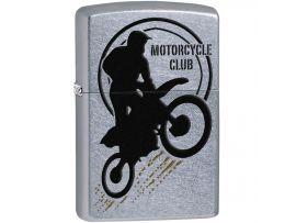 Зажигалка бензиновая Zippo 207 PF18 Motorbike Club Desing