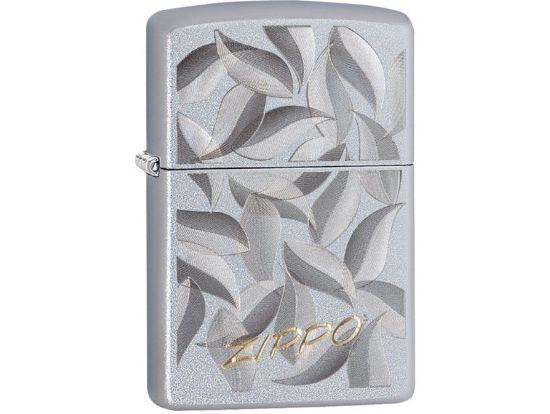 Зажигалка бензиновая Zippo 205 PF19 Zippo Leaf Design