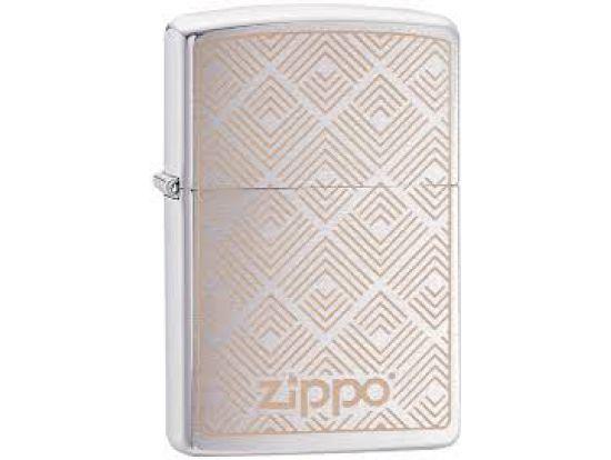 Зажигалка бензиновая Zippo 200 PF19 Pyramid Shapes Design