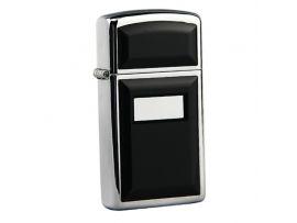 Зажигалка бензиновая узкая Zippo ULTRALITE BLACK