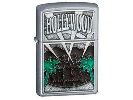 Зажигалка бензиновая Zippo HOLLYWOOD PALM TREES