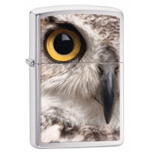 Зажигалка бензиновая Zippo Owl Face