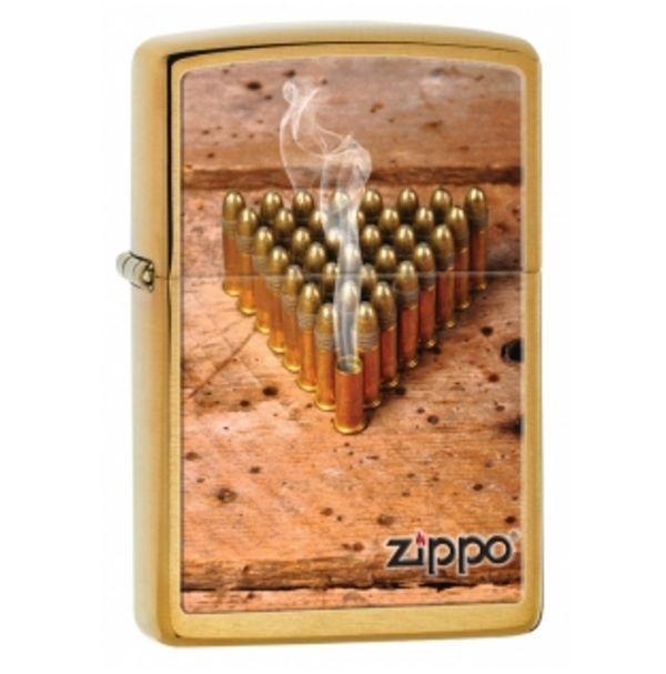 Зажигалка бензиновая Zippo Smoking Bullets