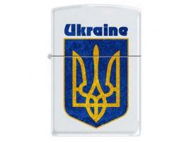 Зажигалка бензиновая Zippo UKRAINE COAT OF ARMS 2