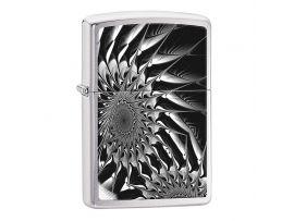 Зажигалка бензиновая Zippo  200 Metal Abstract