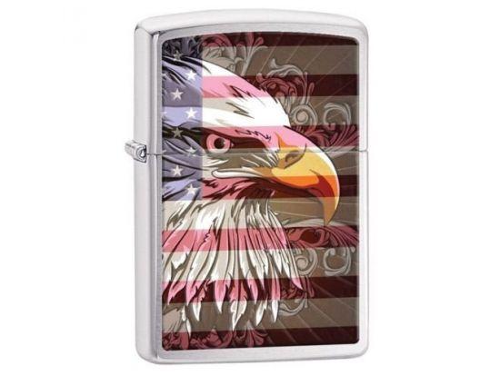 "Зажигалка бензиновая Zippo ""Eagle Flag"""
