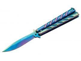 Нож Boker Balisong Rainbow