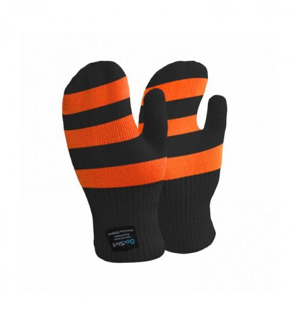 Варежки детские водонепроницаемые оранжевые Dexshell Children mittens orange