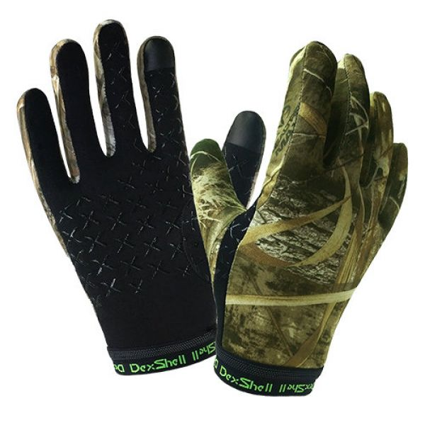 Dexshell Drylite Gloves Black LXL Перчатки трикотажные водонепроницаемые