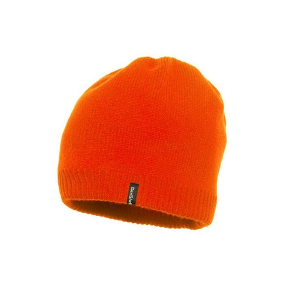 Шапка водонепроницаемая Dexshell, оранжевая