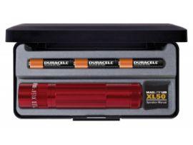 Фонарик Maglite XL50 LED/3A3 (красный)