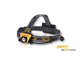 Налобный фонарь Fenix HP05 желтый (350 лм, 3хАА)