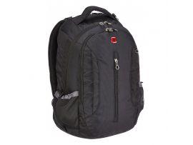 """Рюкзак WENGER с отделением для ноутбука """"15"""", черный, 34х48х22 см, 0,65 кг, 24 л"""