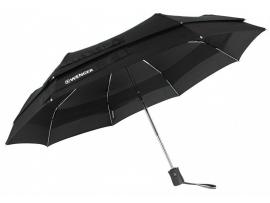 Зонт автоматический WENGER, черный, 6,5х29см,  425г